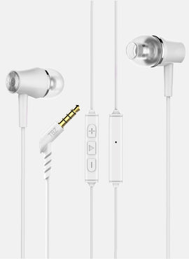 Decibel P1 in-Ear Wired Earphones with Mic, perfect Length Cable, Plug Type 3.5mm