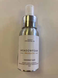 MEADOWFOAM HAND SANITIZER 50ML