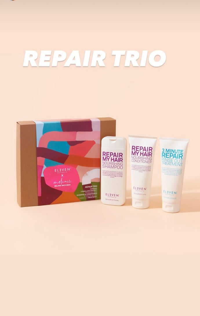 ELEVEN REPAIR TRIO CHRISTMAS PACK