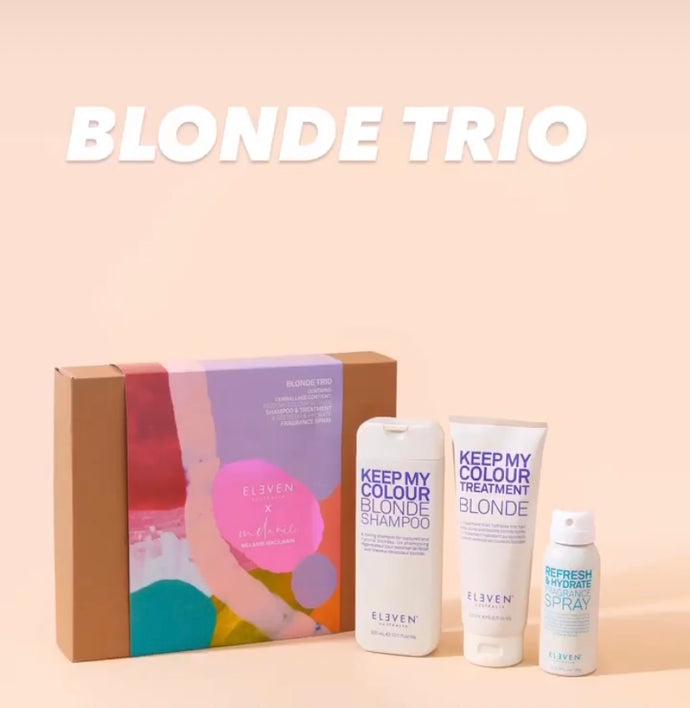 ELEVEN BLONDE TRIO CHRISTMAS PACK