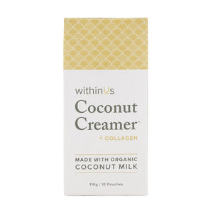 WithinUs Coconut Creamer + TruMarine Collagen Pouches