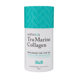WithinUs-Tru Marine Collagen Stick Pack Container