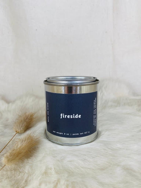 Fireside candle by Mala the Brand available at Local Assembly