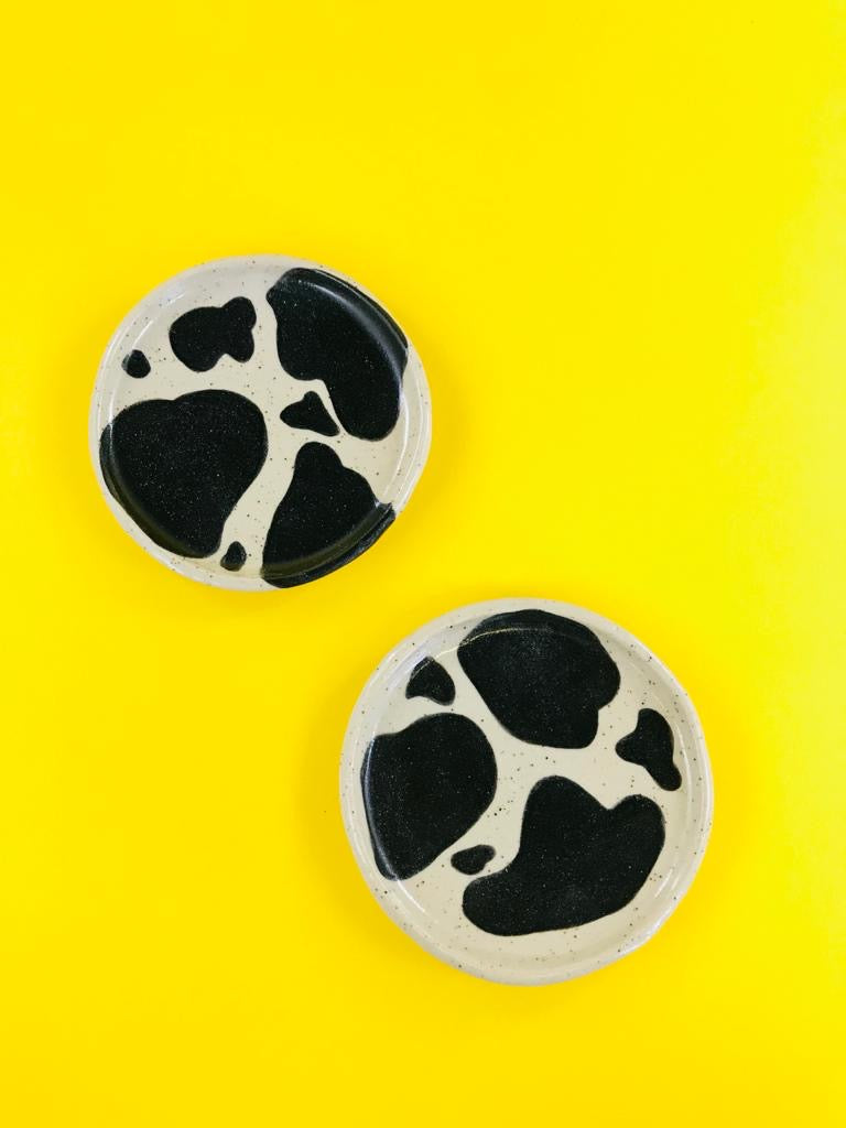Cow print dish by LTV available at Local Assembly