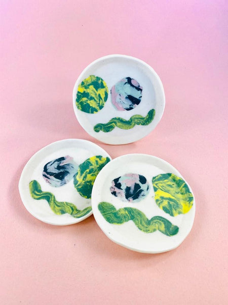 Small ceramic dishes by Marita Manson available at Local Assembly