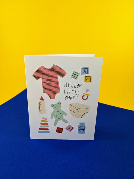 Badger & Burke baby card available at Local Assembly