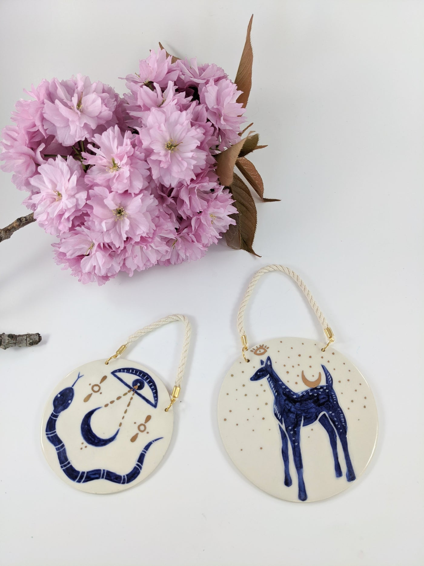Ceramic wall charm by Mana Dejah available at Local Assembly