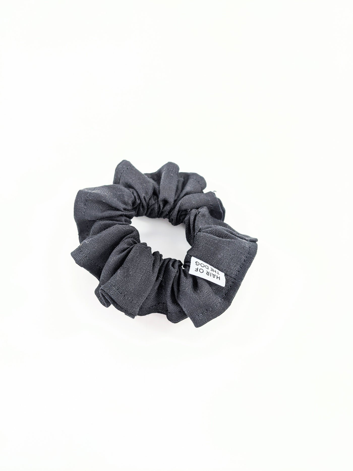 Linen scrunchies by Hair of the Dog Scrunchies available at Local Assembly