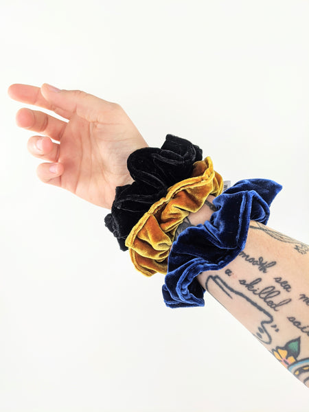 Velvet Scrunchies by Hair of the Dog