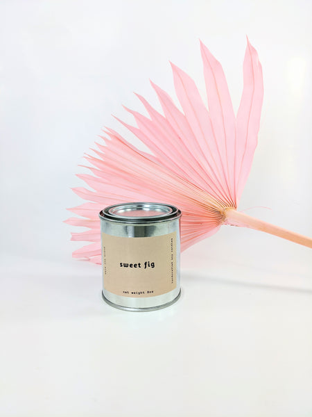 Mala the Brand sweet fig candle available at Local Assembly