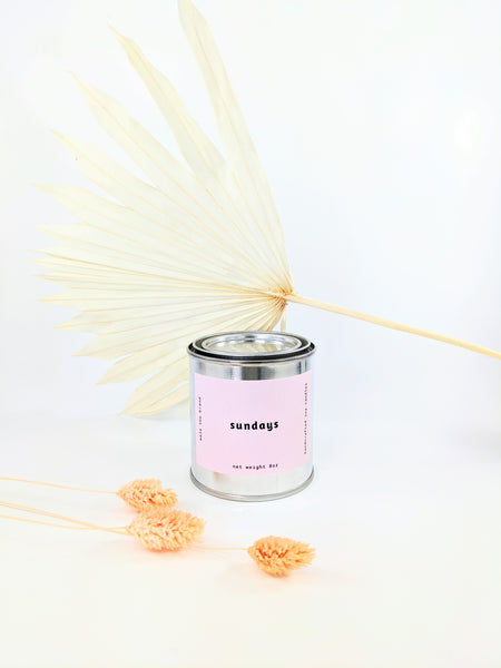 Mala the Brand sundays candle available at Local Assembly
