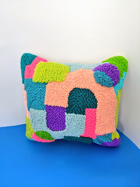 Punch Needle Pillow (Small) by Going Steady