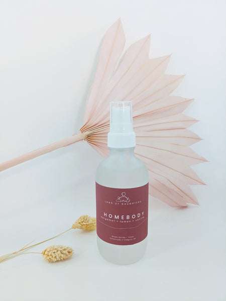 Homebody aroma spray by Land of Daughters available at Local Assembly