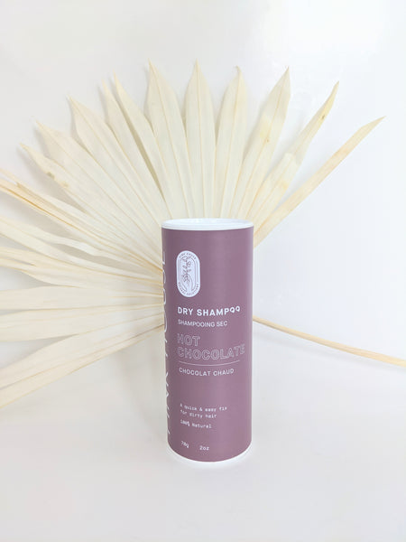 Hot Chocolate brunette dry shampoo by Pink House available at Local Assembly
