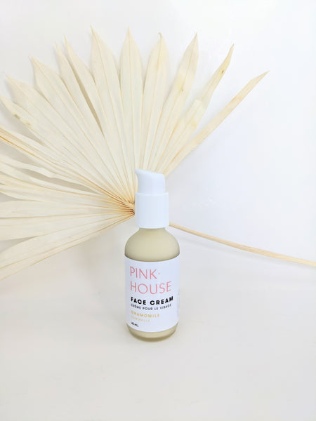 Chamomile face lotion by Pink House available at Local Assembly