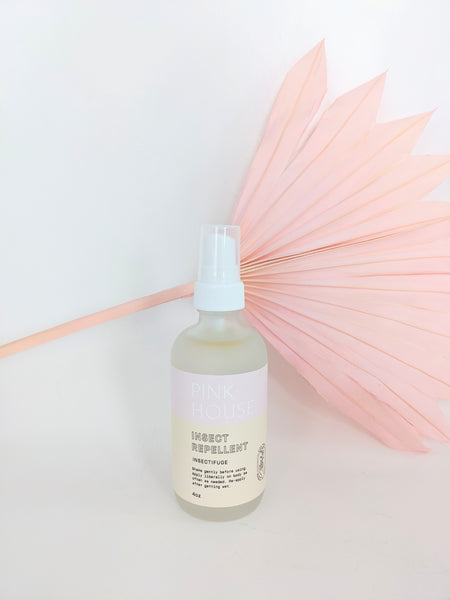 Natural bug spray by Pink House available at Local Assembly