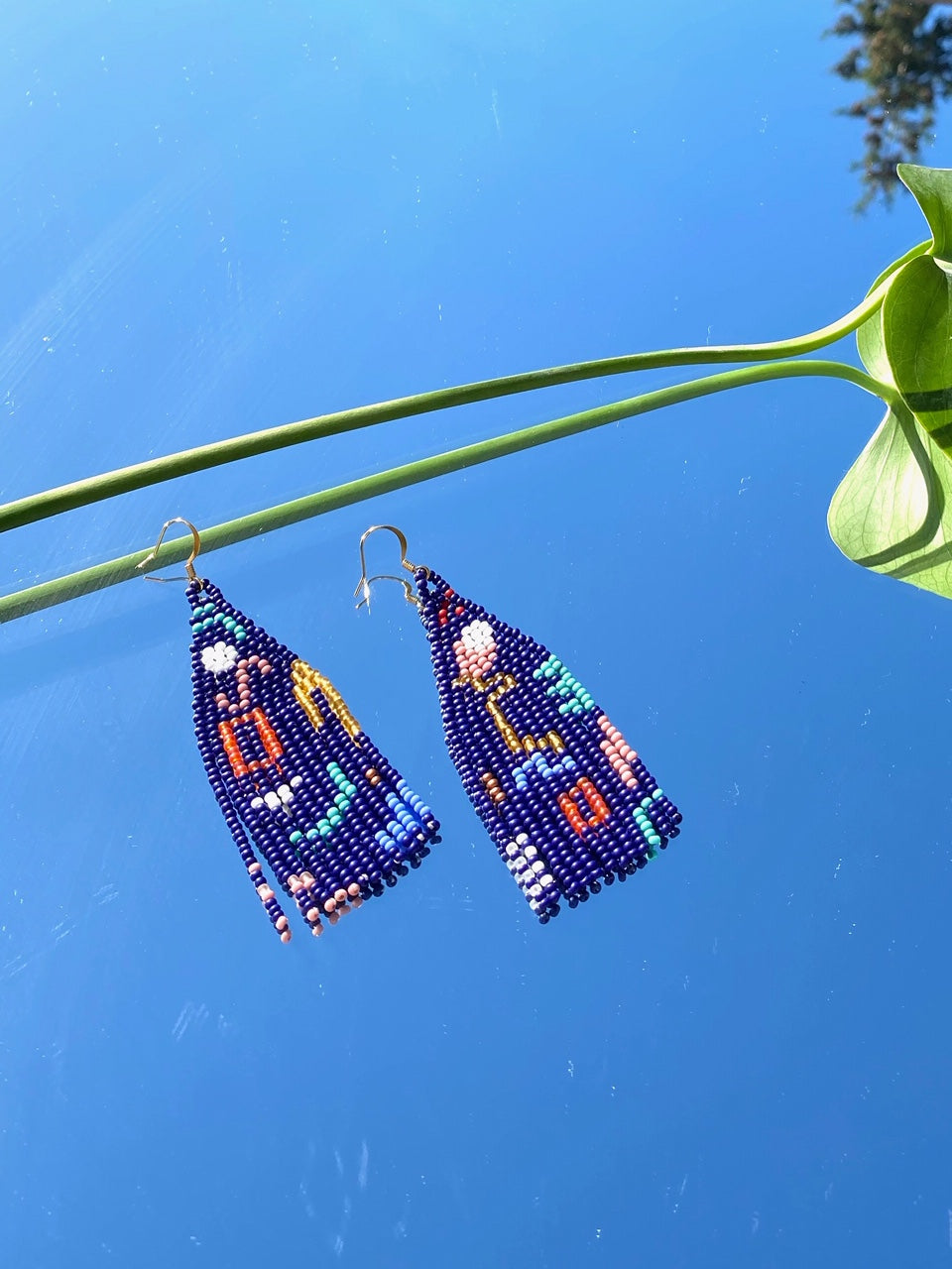 Cyanea Earrings by Beads + Babes