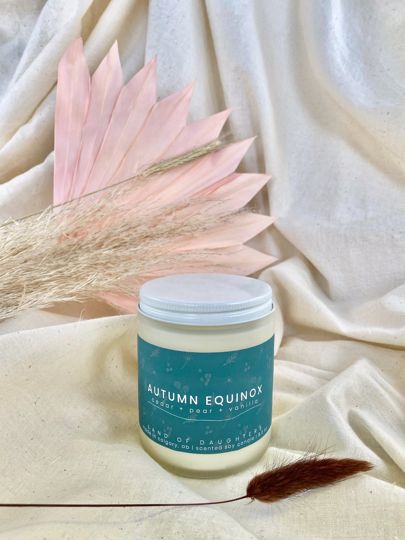 Autumn Equinox candle by Land of Daughters available at Local Assembly