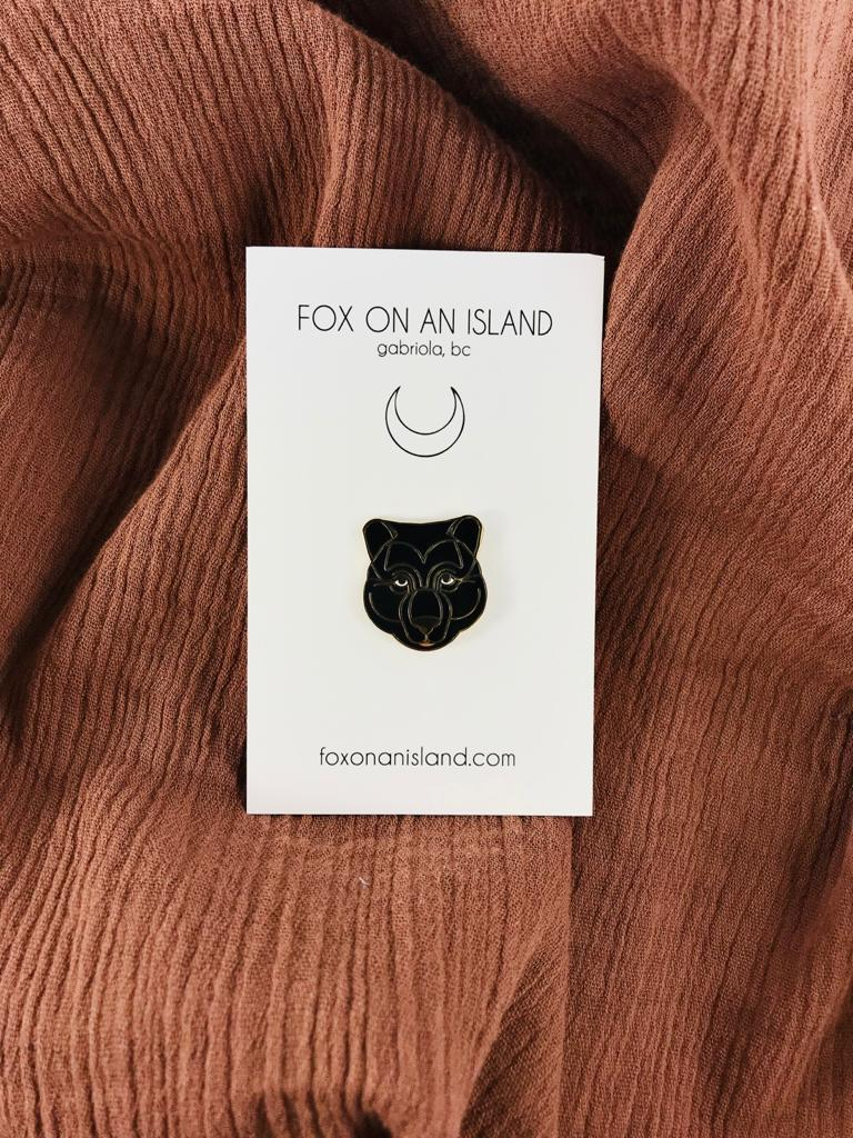 Mama Bear pin by Fox On An Island available at Local Assembly