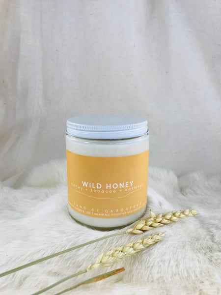 Wild Honey candle by Land of Daughters available at Local Assembly