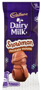 Cadbury UK Chocolate Mousse Snowman
