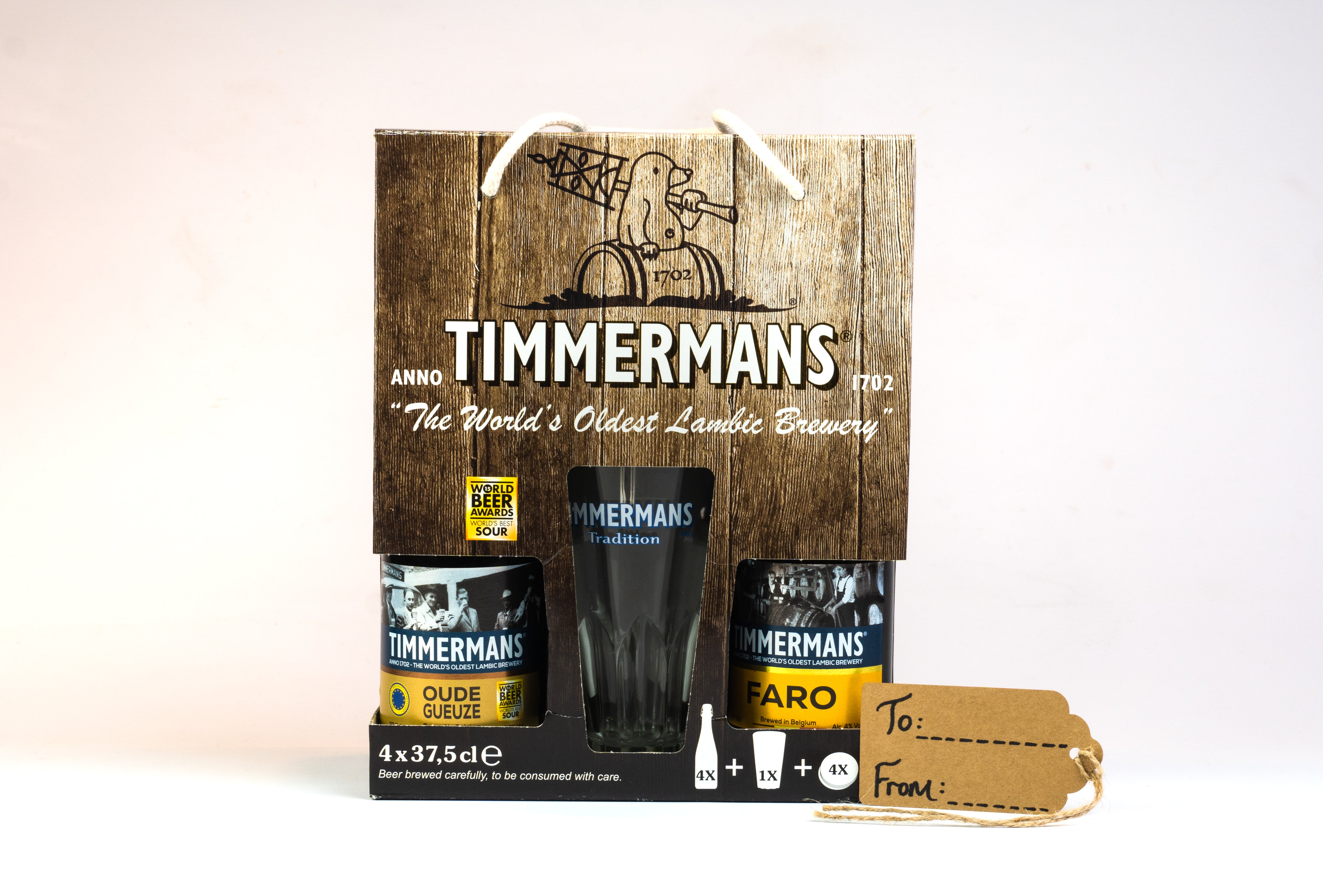 Timmermans Lambic Beer Gift Pack