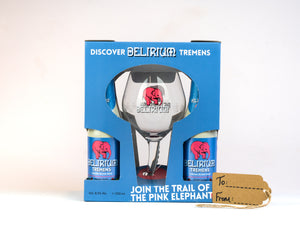 Delirium Tremens Strong Blond Beer Gift Pack