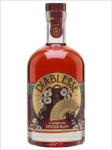 Diablesse Clementine Spiced Rum 70cl