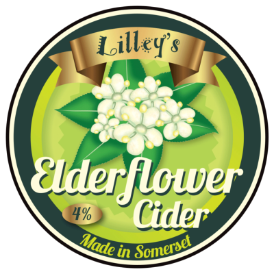 Lilleys Elderflower Cider 10ltr BIB