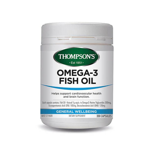 Thompson Fish Oil 1000mg 400s