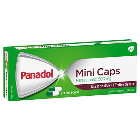 Panadol Mini Caps 20s
