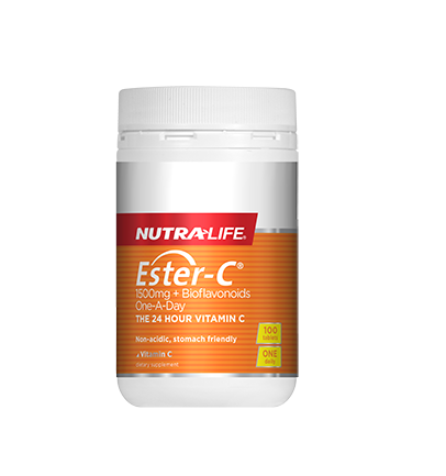 Nutralife Ester C 1500mg 1-a-day 100s