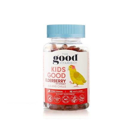 The Good Vitamin Kids Good Elderberry + Ivy Extract 90s