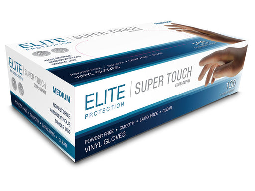 Elite Protection Super Touch Medium Gloves 100s Box