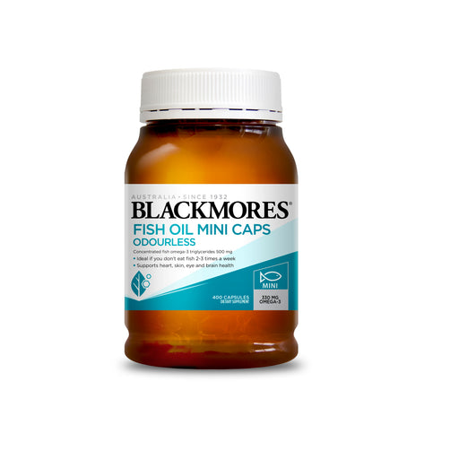 Blackmores Odourless Mini Fish Oil 1000mg 400s