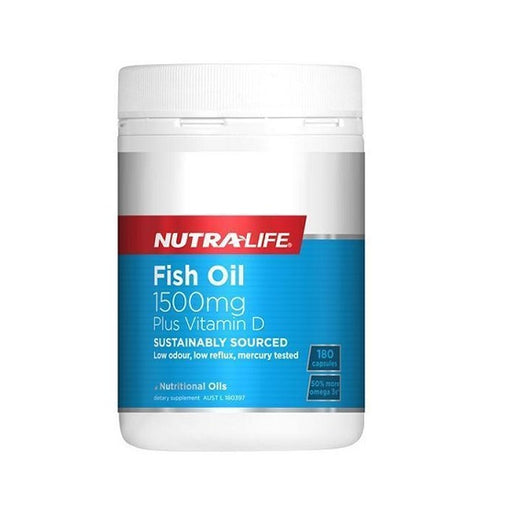 Nutralife Fish Oil 1500mg 180s