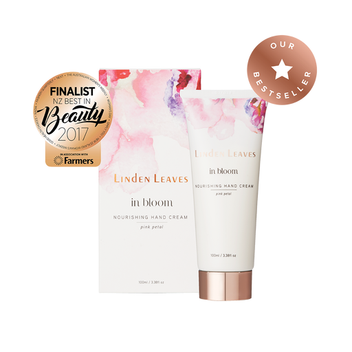 Linden Leaves IB Nourishing Hand Cr Pink Petal 100ml
