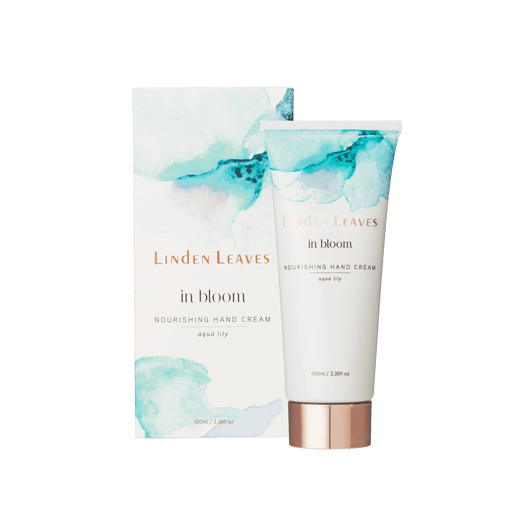 Linden Leaves IB Nourishing Hand Cream Aqua Lily 100ml