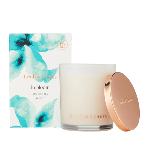 Linden Leaves IB Soy Candle Aqua Lily 300g