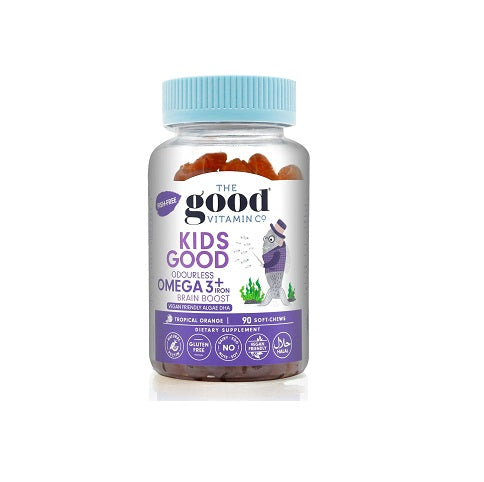 The Good Vitamin Kids Good Omega 3 + Iron 90s