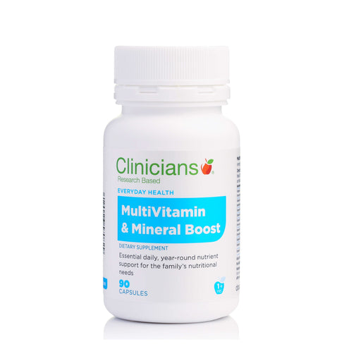 Clinicians Vitamin and Mineral Boost 90s