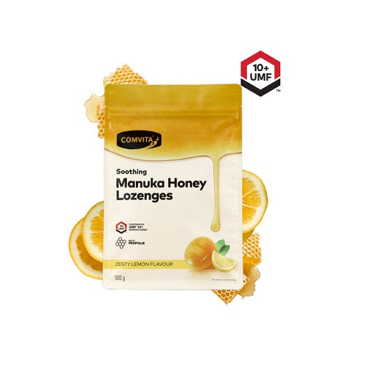 Comvita Manuka Honey Lozenges Lemon 500g