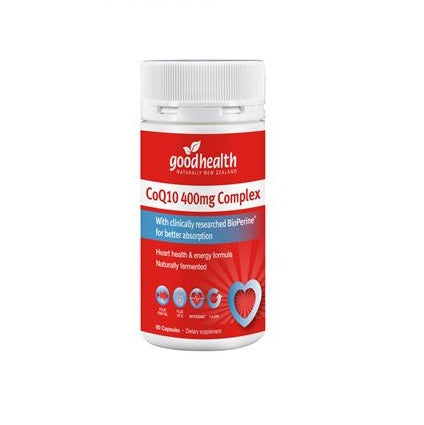 Good Health Coq10 400mg 60s