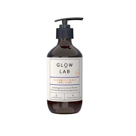 Glow Lab Blackberry & Bay Body Wash 400ml