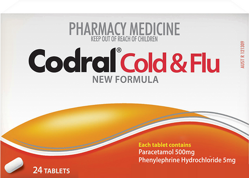 Codral Cold & Flu Tablets 24s