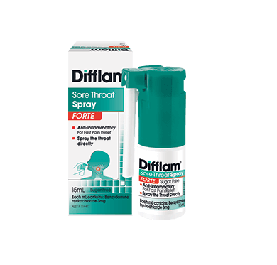 Difflam Forte Sore Throat Spray 15ml