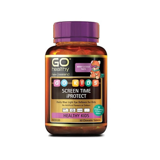 GO Kids Screen Time iProtect 60 Chewable Tablets