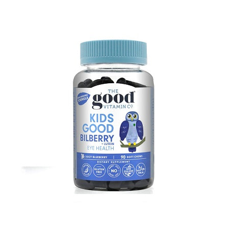 The Good Vitamin Kids Good Bilberry + Lutein 90s