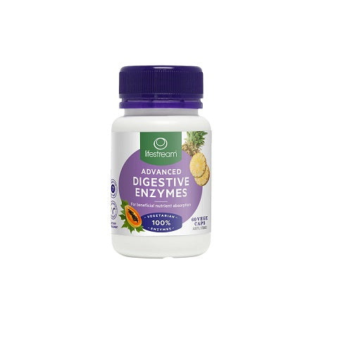 Lifestream Advanced Digestive Enzymes 60s