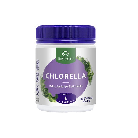 Lifestream Chlorella 500mg 200caps